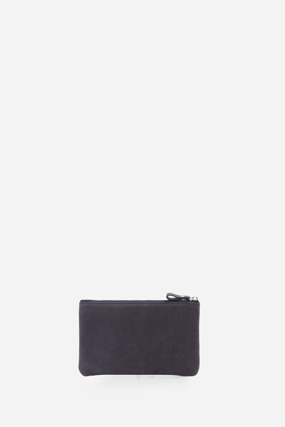 Nubuck leather flat pouch Vanessa Bruno