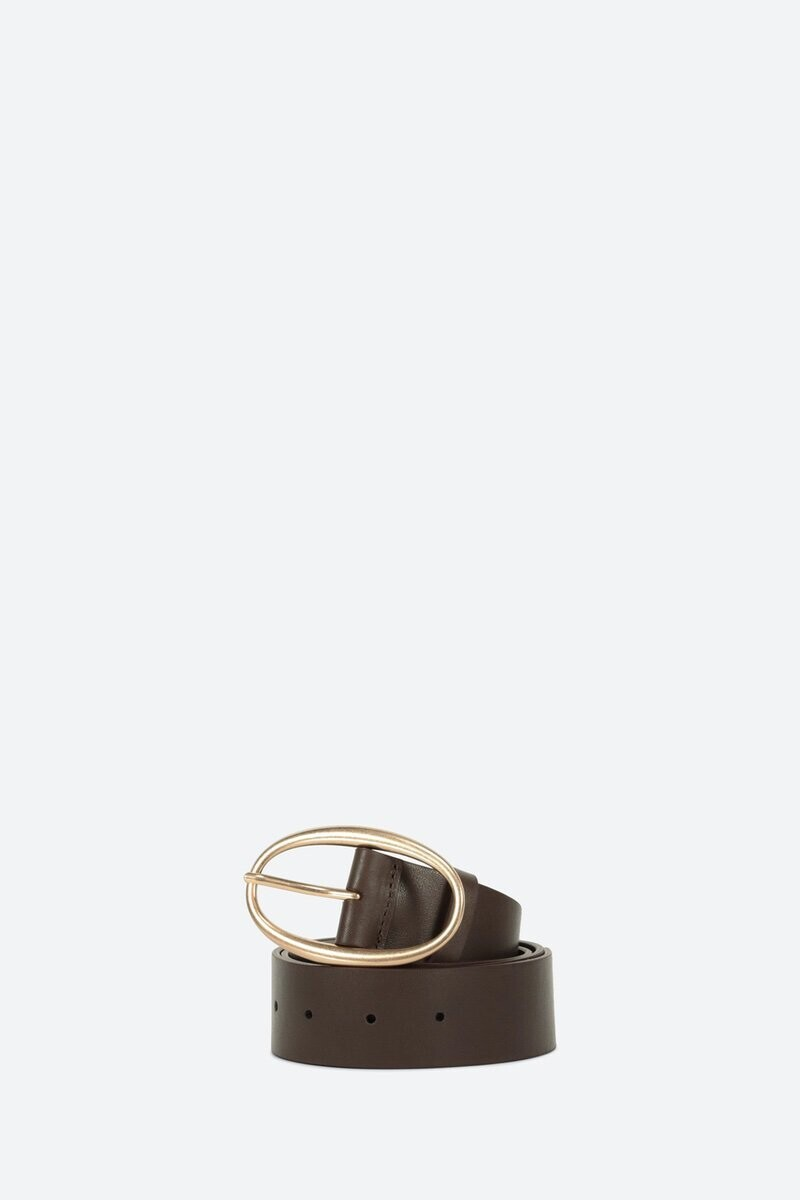Calfskin Leather Belt CHOCOLATE alt_par_VB