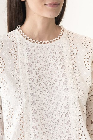 English embroideries and cotton Jalna blouse