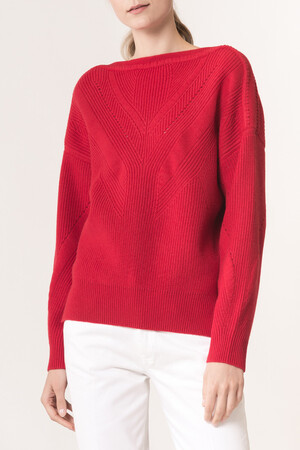 Merino wool and cashmere Lena Sweater